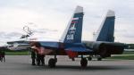 Echo-Kiloさんが、タンペレ・ピルカッラ空港で撮影したロシア空軍 Su-27Pの航空フォト(写真)