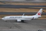 ハム太郎さんが、羽田空港で撮影した日本航空 737-846の航空フォト(写真)