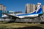 DVDさんが、航空公園駅前で撮影したエアーニッポン YS-11A-500の航空フォト(写真)