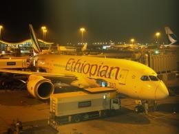 ken1☆MYJさんが、香港国際空港で撮影したエチオピア航空 787-860の航空フォト(写真)