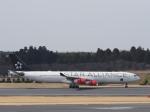 とりてつさんが、成田国際空港で撮影したスカンジナビア航空 A340-313Xの航空フォト(写真)