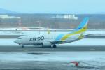 daisuke1228さんが、新千歳空港で撮影したAIR DO 737-781の航空フォト(写真)