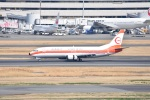 タマさんが、羽田空港で撮影した日本トランスオーシャン航空 737-446の航空フォト(写真)