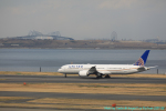 taniocchi-skyさんが、羽田空港で撮影したユナイテッド航空 787-9の航空フォト(写真)