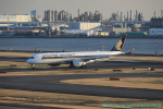 taniocchi-skyさんが、羽田空港で撮影したシンガポール航空 A350-941XWBの航空フォト(写真)