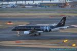 taniocchi-skyさんが、羽田空港で撮影したスターフライヤー A320-214の航空フォト(写真)