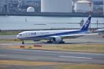 そらまめさんが、羽田空港で撮影した全日空 777-381/ERの航空フォト(写真)