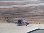 lonely-wolfさんが、神戸空港で撮影した朝日航洋 AS332L Super Pumaの航空フォト(写真)