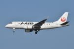 そらまめさんが、羽田空港で撮影したジェイ・エア ERJ-170-100 (ERJ-170STD)の航空フォト(写真)
