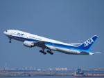えぬえむさんが、羽田空港で撮影した全日空 777-281/ERの航空フォト(写真)