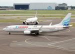 voyagerさんが、アムステルダム・スキポール国際空港で撮影したコレンドン・ダッチ・エアラインズ 737-8K2の航空フォト(写真)