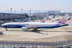べガスさんが、関西国際空港で撮影したチャイナエアライン 777-309/ERの航空フォト(写真)