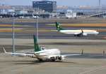 タミーさんが、羽田空港で撮影したサウジアラビア財務省 737-9FG/ER BBJ3の航空フォト(写真)