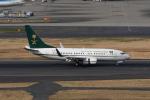 じゃまちゃんさんが、羽田空港で撮影したサウジアラビア財務省 737-7FGの航空フォト(写真)