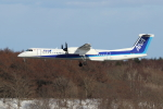 sumihan_2010さんが、新千歳空港で撮影したANAウイングス DHC-8-402Q Dash 8の航空フォト(写真)