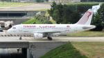 誘喜さんが、パリ オルリー空港で撮影したチュニスエア A319-114の航空フォト(写真)