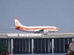 パピヨンさんが、羽田空港で撮影した日本トランスオーシャン航空 737-446の航空フォト(写真)