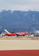 おぶりがーどさんが、松本空港で撮影したフジドリームエアラインズ ERJ-170-100 (ERJ-170STD)の航空フォト(写真)