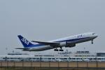 HS888さんが、鹿児島空港で撮影した全日空 767-381/ERの航空フォト(写真)