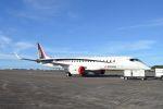 kohei787さんが、グアム国際空港で撮影した三菱航空機 MRJ90STDの航空フォト(写真)