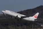 HEATHROWさんが、岡山空港で撮影した日本トランスオーシャン航空 737-446の航空フォト(写真)