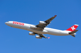 saoya_saodakeさんが、成田国際空港で撮影したスイスインターナショナルエアラインズ A340-313Xの航空フォト(写真)