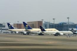 ebiflyさんが、羽田空港で撮影したサウジアラビア王国政府 757-23Aの航空フォト(写真)