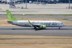 ぎんじろーさんが、羽田空港で撮影したソラシド エア 737-86Nの航空フォト(写真)