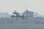 夏みかんさんが、名古屋飛行場で撮影した三菱航空機 MRJ90STDの航空フォト(写真)