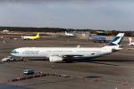 GOOSEMAN777さんが、成田国際空港で撮影したキャセイパシフィック航空 A330-343Xの航空フォト(写真)