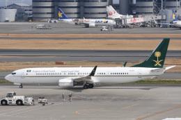 ATCITMさんが、羽田空港で撮影したサウジアラビア財務省 737-9FG/ER BBJ3の航空フォト(写真)