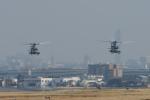 夏みかんさんが、名古屋飛行場で撮影したアメリカ海兵隊 UH-1Yの航空フォト(写真)