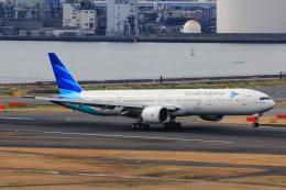こだしさんが、羽田空港で撮影したガルーダ・インドネシア航空 777-3U3/ERの航空フォト(写真)