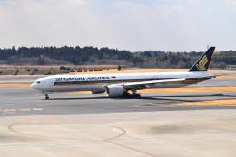 turenoアカクロさんが、成田国際空港で撮影したシンガポール航空 777-312/ERの航空フォト(写真)