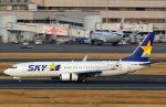 Wasawasa-isaoさんが、羽田空港で撮影したスカイマーク 737-81Dの航空フォト(写真)