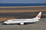 金魚さんが、中部国際空港で撮影した日本トランスオーシャン航空 737-446の航空フォト(写真)