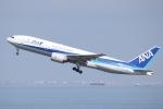 tyusonさんが、羽田空港で撮影した全日空 777-281/ERの航空フォト(写真)