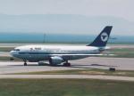 プルシアンブルーさんが、関西国際空港で撮影したMIATモンゴル航空 A310-304の航空フォト(写真)