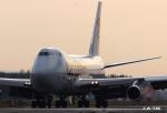 わかすぎさんが、小松空港で撮影したカーゴルクス 747-4R7F/SCDの航空フォト(写真)