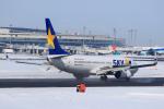 noriphotoさんが、新千歳空港で撮影したスカイマーク 737-8ALの航空フォト(写真)