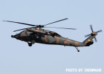 snowmanさんが、名古屋飛行場で撮影した陸上自衛隊 UH-60JAの航空フォト(写真)