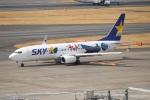 らっしーさんが、羽田空港で撮影したスカイマーク 737-86Nの航空フォト(写真)