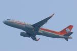 臨時特急7032Mさんが、香港国際空港で撮影した四川航空 A320-232の航空フォト(写真)