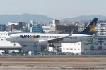 tabi0329さんが、福岡空港で撮影したスカイマーク 737-8FZの航空フォト(写真)