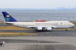 JA8961RJOOさんが、羽田空港で撮影したサウジアラビア王国政府 747-468の航空フォト(写真)