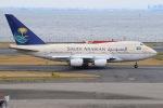 JA8961RJOOさんが、羽田空港で撮影したサウジアラビア王国政府 747SP-68の航空フォト(写真)