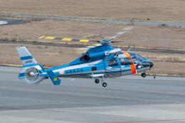 ShiShiMaRu83さんが、神戸空港で撮影した長野県警察 AS365N3 Dauphin 2の航空フォト(写真)