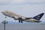 せぷてんばーさんが、羽田空港で撮影したサウジアラビア王国政府 747SP-68の航空フォト(写真)