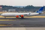 まくろすさんが、成田国際空港で撮影したスカンジナビア航空 A340-313Xの航空フォト(写真)