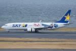 Tomo-Papaさんが、羽田空港で撮影したスカイマーク 737-86Nの航空フォト(写真)